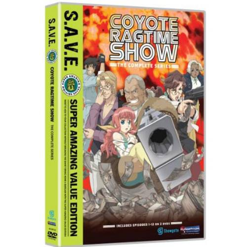 Coyote Ragtime Show: The Complete Series (S.A.V.E.) (Japanese) (Widescreen)