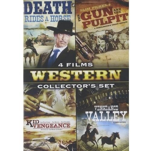 Classic Westerns Collector's Set, Vol. 3 - Death Rides A Horse / The Gun And The Pulpit / Kid Vengeance / Vengeance Valley