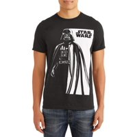 Star Wars Men's Vader Half In Graphic T-Shirt