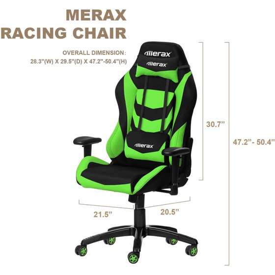 Surprising Merax Racing Style Office Chair Gaming E Walmart Com Andrewgaddart Wooden Chair Designs For Living Room Andrewgaddartcom
