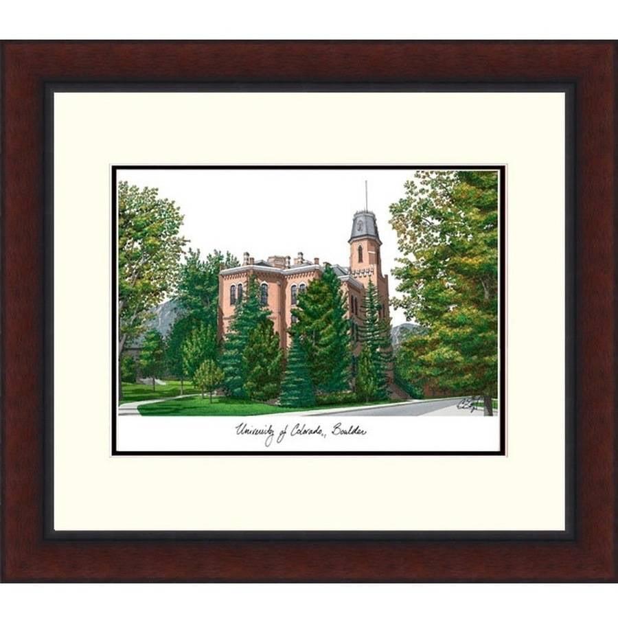 University of Colorado, Boulder Legacy Alumnus Framed Lithograph
