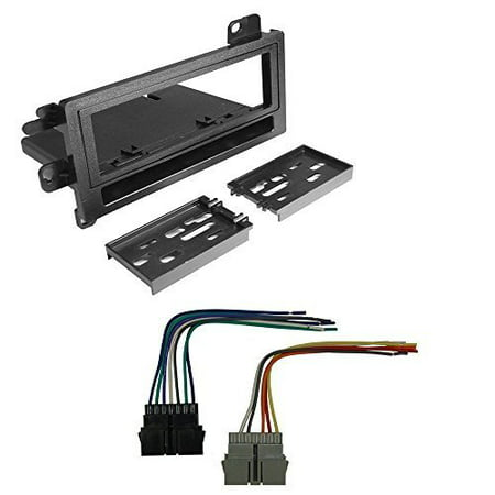 jeep 1993 - 1998 grand cherokee car radio stereo cd player dash install mounting kit harness (Jeep Cherokee Stereo System)