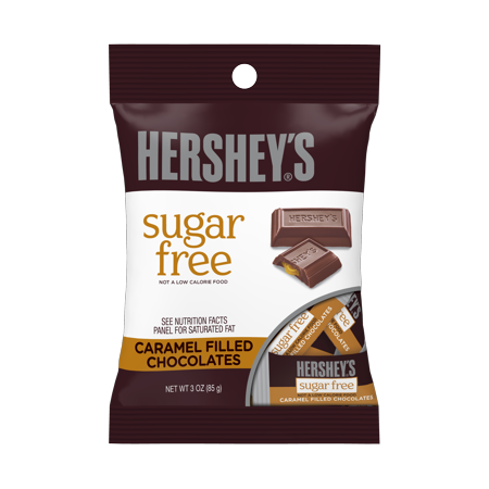 Hershey's Sugar-Free Caramel Filled Chocolates, 3 Oz.](Candy Coal)