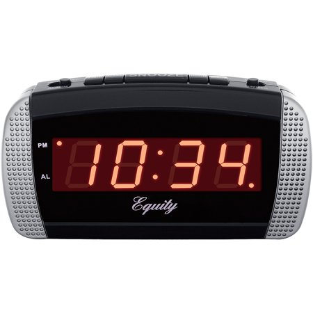 Equity by La Crosse 30240 Super Loud LED Alarm Clock Alarm Clock Stand By