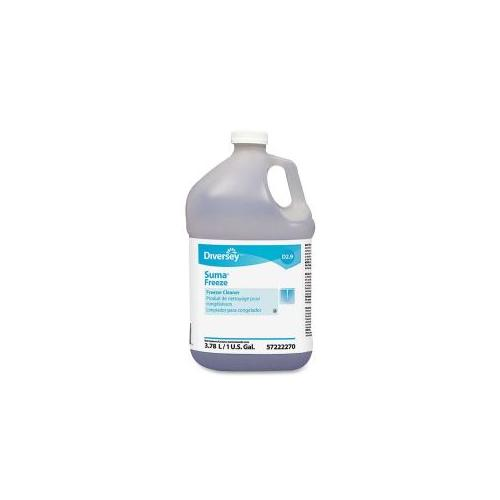 JOHNSON DIVERSEY Freezer Cleaner, 1Gal, Clear/Blue
