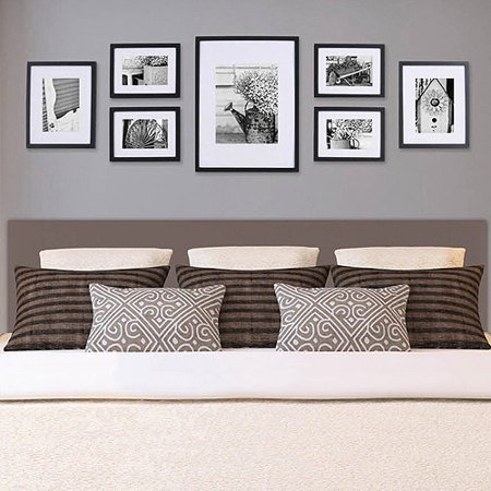 Pinnacle gallery perfect 7 piece frame kit for 10 x 14 living room arrangement