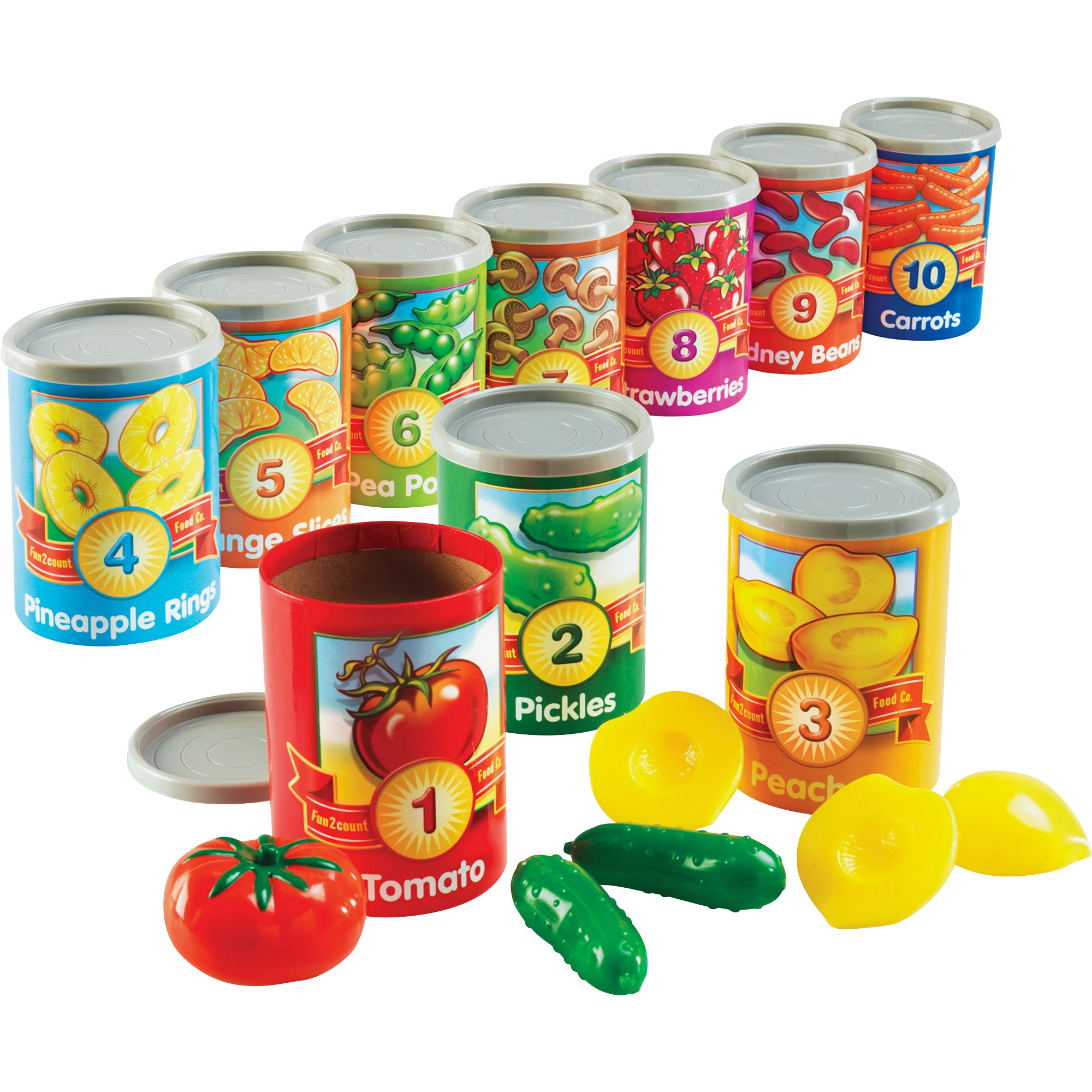 Learning Resources 1-10 Counting Cans Set