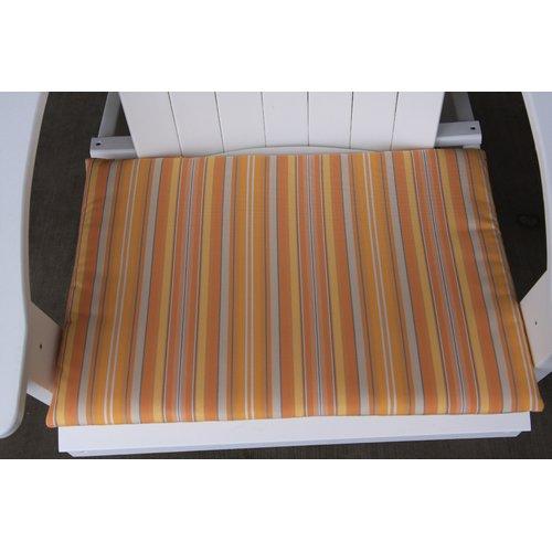 Charlton Home Striped Indoor/Outdoor Adirondack Chair Cushion
