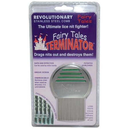 - Terminator Metal Lice Comb
