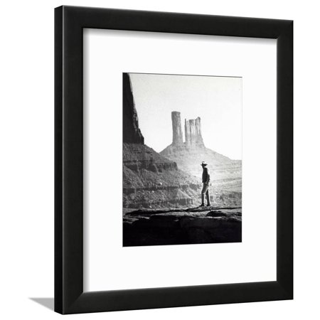 John Wayne Framed Print Wall Art By Globe Photos LLC