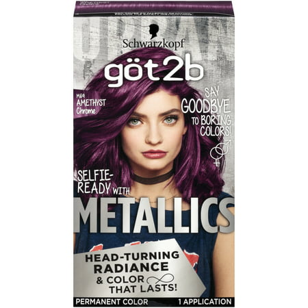 Got2b Metallic Permanent Hair Color, M69 Amethyst (Best Hair Colour For Womens)