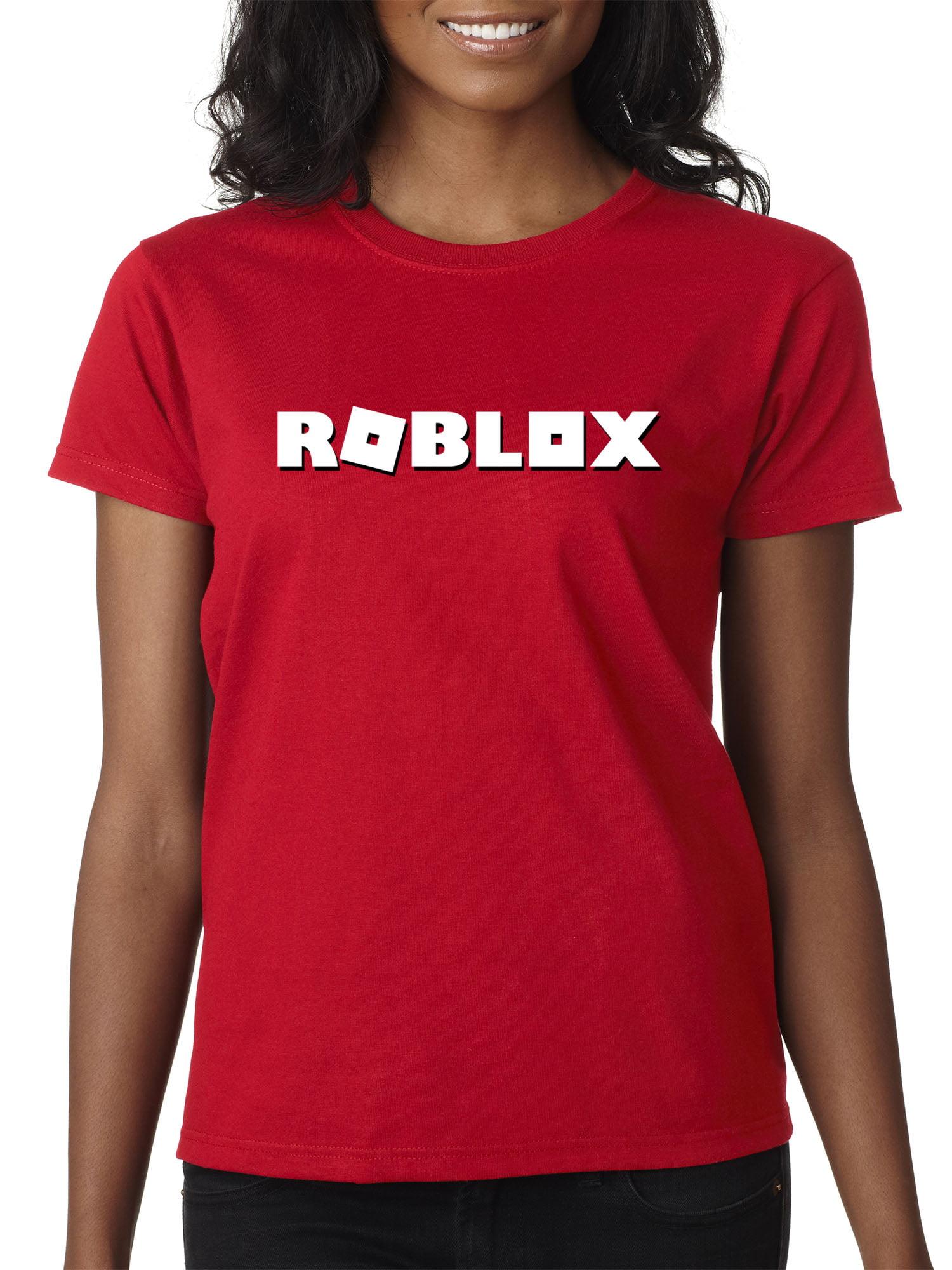 New Way New Way 923 Women S T Shirt Roblox Logo Game Accent Xs