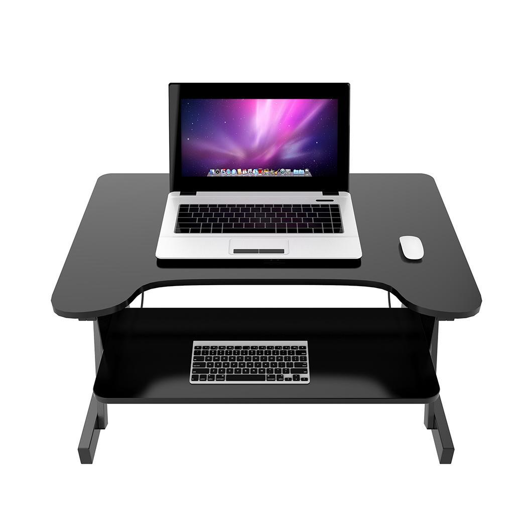 Roojer Adjustable Height Wide Sit Sturdy Standing Desk wi...