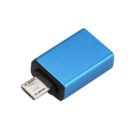Micro USB To USB OTG Mini Adapter Converter For Android SmartPhone BU