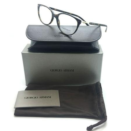 Giorgio Armani Tortoise Eyeglasses AR 7023 5026 54 mm Cate Eye Plastic (Armani Eye Frames)