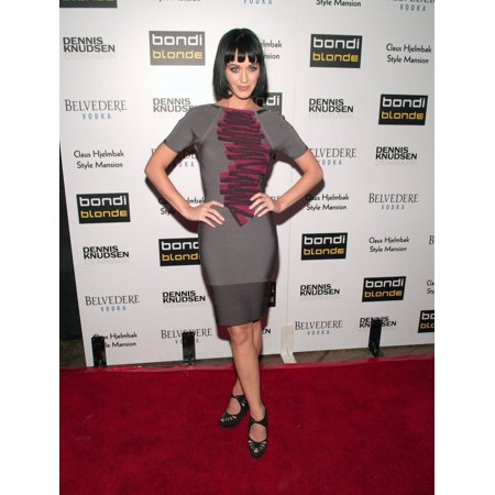 Katy Perry At Arrivals For Bondi Blonde Beer Style Mansion Party Style Mansion International Los Angeles Ca 292009 Photo By Tony GonzalezEverett CollectionEverett Collection Celebrity