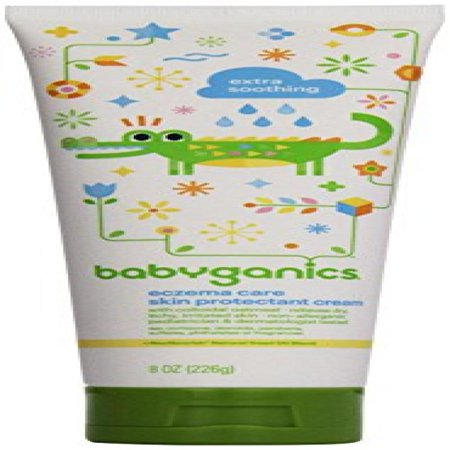 Babyganics Eczema Care Skin Protectant Cream, 8 Oz