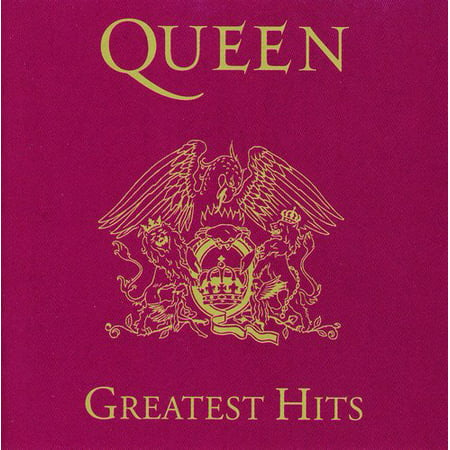 Queen ‎– Greatest Hits (CD) - Halloween Music Collection Cd
