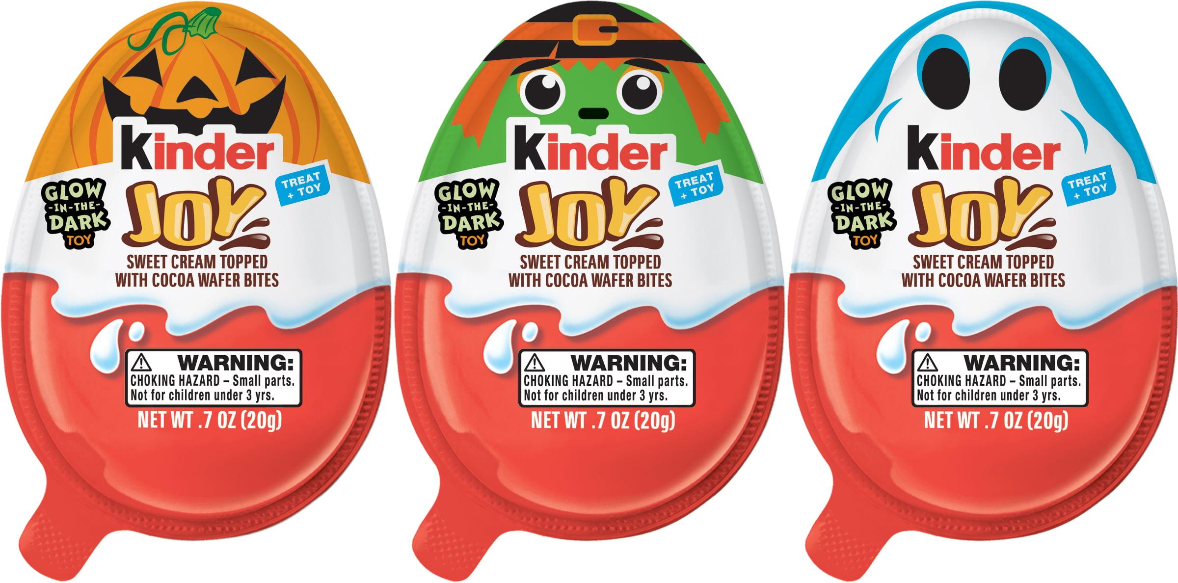 Kinder Joy Halloween Treat and Toy, 2.8 oz, 4 count