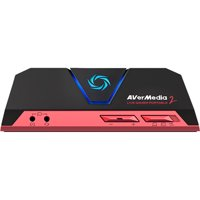 AVerMedia Live Gamer Portable 2 - Functions: Video Game Streaming, Video Game Recording, Video Game Capturing - USB - 1920 x 1080 - H.264, MJPEG - Audio Line In - Audio Line Out - PC, Mac - Portable