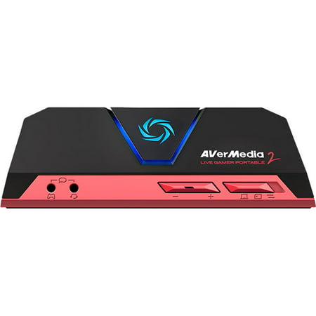 AVerMedia Live Gamer Portable 2 - Functions: Video Game Streaming, Video Game Recording, Video Game Capturing - USB - 1920 x 1080 - H.264, MJPEG - Audio Line In - Audio Line Out - PC, Mac - (Best Pc For Audio Recording 2019)
