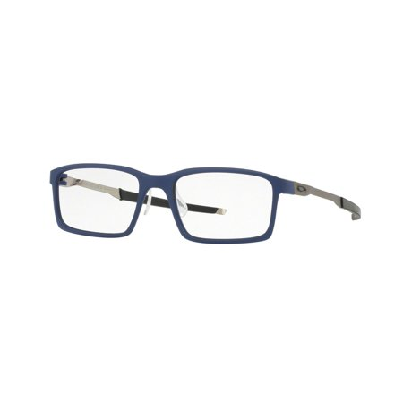 Oakley 0OX8097 Steel Line S Full Rim Rectangular Eyeglasses for Unisex - Size (Oakley Eyeglasses Online)