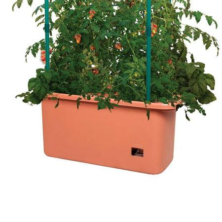 Hydrofarm 10 Gal Tomato Trellis Self Watering Grow System on Wheels (3