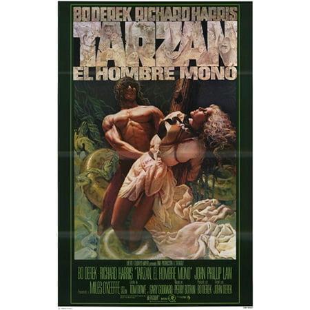 Tarzan The Ape Man C1981  Spanish    Style A Movie Poster  11 X 17