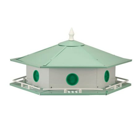 Heath Outdoor Products Six Room Purple Martin Aluminum Bird House Aluminum Purple Martin House