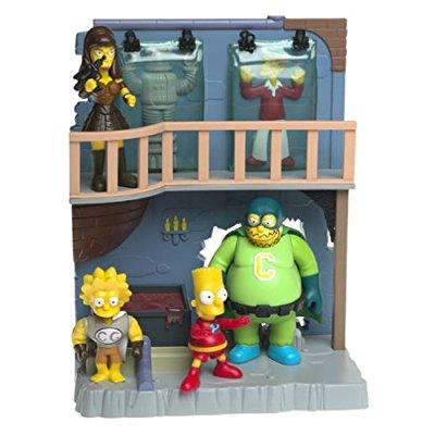 the simpsons toys r us exclusive playset treehouse of horror 4 collector's lair - Simpsons Halloween Burger King Toys
