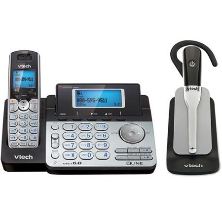 VTech DS6151 + IS600 Cordless Phone System W  2-Line Operation by