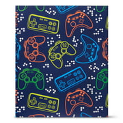 Pen+Gear 3-Prong Paper Fashion Folder with Pockets, Gamer