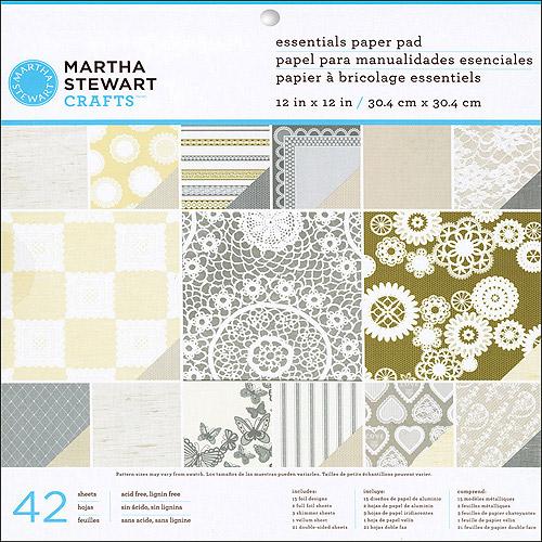 Martha Stewart Crafts Doily Lace Kraft P