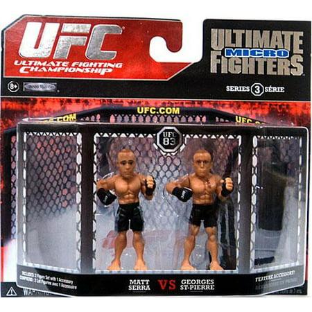 Matt Serra vs. Georges St-Pierre Mini Figure 2-Pack UFC (George St Pierre Vs Matt Serra 2)