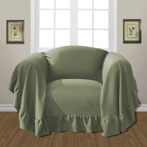 United Curtain Co. Westwood Armchair Slipcover