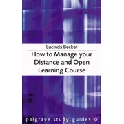 How to Manage your Distance and Open Learning Course - eBook