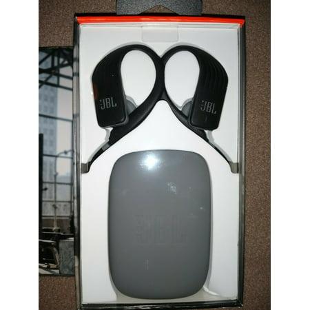 JBL Endurance Jump Wireless Around-the-Ear Headphones - Black (JBLENDURJUMPBLK)