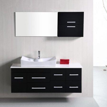 Design Element DEC1101 Springfield 53-in. Single Bathroom Vanity Set