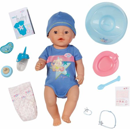 Baby Born Interactive Doll 17 Quot Boy Walmart Com