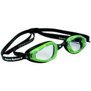 K180 Plus Goggles, Clear Lens, Green/Black