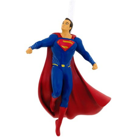 Hallmark DC Comics Batman v Superman Superman Christmas Tree Ornament (Batman Christmas)