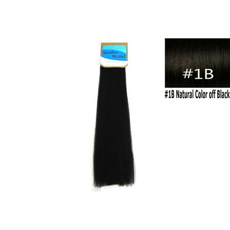 100% Kanekalon Braiding Hair, KK Braiding hair, Braids Hair Twists, 3 pack deal Color (Best Brand Of Kanekalon Hair For Senegalese Twists)