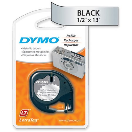 Laminated Tape Thermal Cartridge - Dymo LetraTag Label Maker Tape Cartridge - 0.50