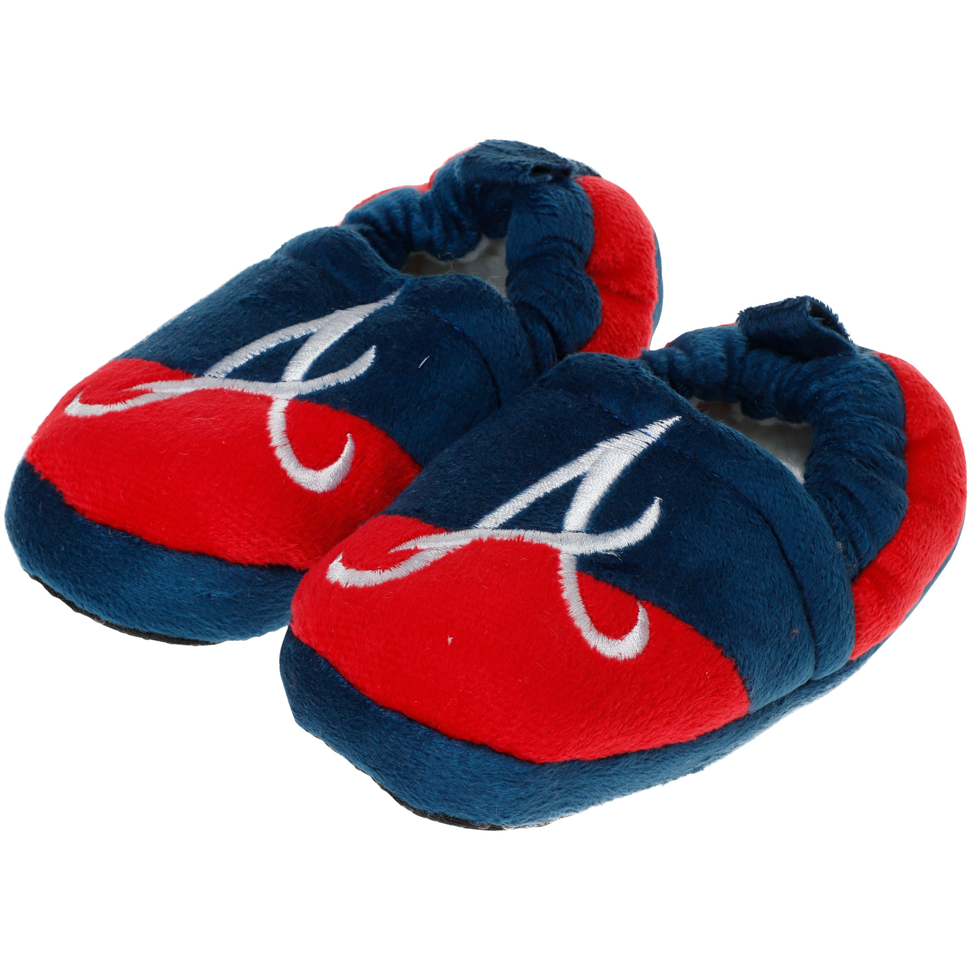 Atlanta Braves Toddler Colorblock Slide Slippers