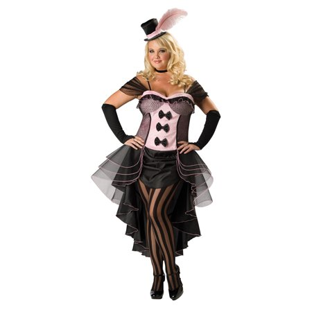 Burlesque Babe Adult Halloween Costume - One Size - Adult Burlesque Costume