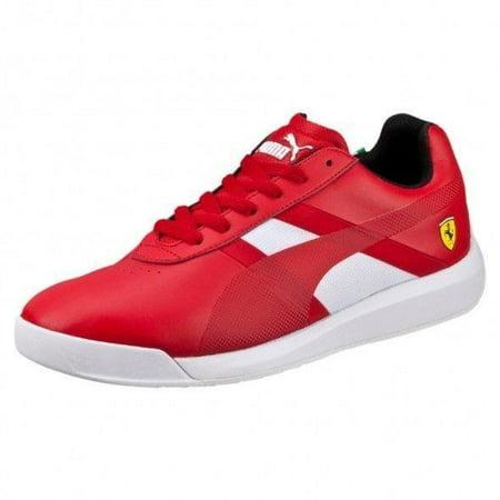 Scuderia Ferrari Puma Podio Tech Red Trainer Sneakers (11.5)
