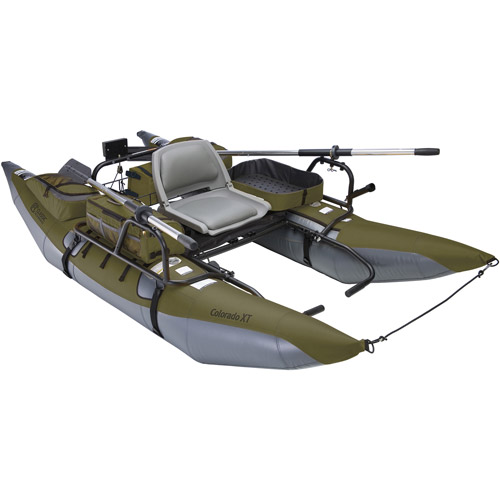 Classic Accessories Colorado XT Pontoon Fishing Boat, Sage by Classic Accessories