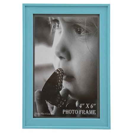 Light SkyBlue Plastic 4x6 Picture (4x6 Photo Frame)