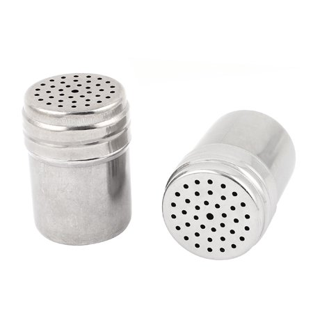 Unique Bargains Stainless Steel Cylindrical Toothpick Holder Container Dispenser 3