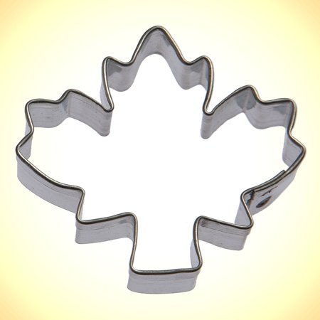 Mini Sugar Maple Leaf Cookie Cutter 2 (Maple Leaf Server)